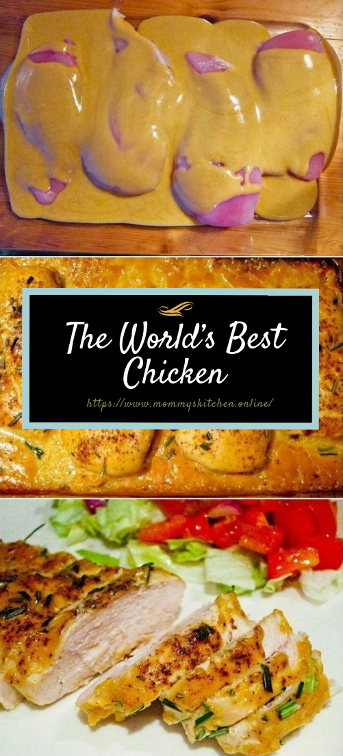 The World's Best Chicken #dinner #chickenrecipe