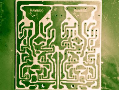 1200W power amplifier with sanken PCB