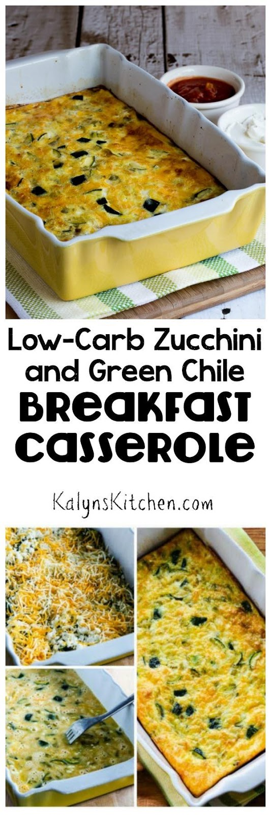 ... Kitchen®: Low-Carb Zucchini and Green Chile Breakfast Casserole