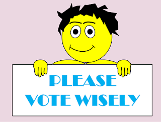 please vote wisely