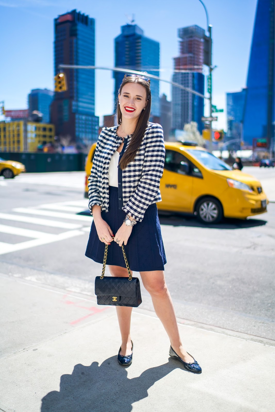 A Classic Look That Will Never Go Out of Style by popular New York fashion blogger, Covering the Bases