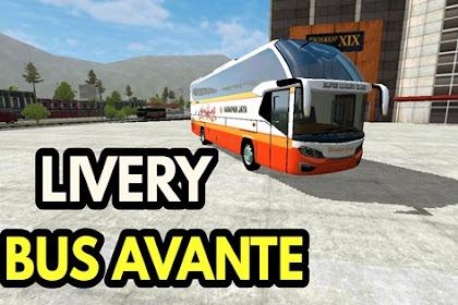 Kumpulan Livery Bus Avante MOD BUSSID By MBS Team