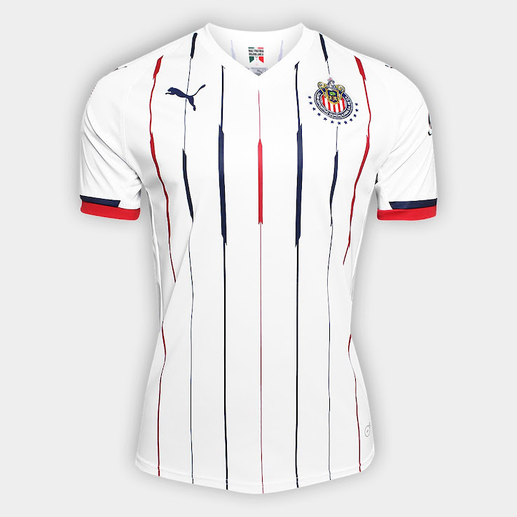 20bdbc33d Chivas 2018-19 Home   Away Kits Released - Footy Headlines