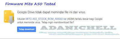 Firmware Mito A50 Tested