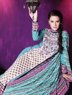 Warda Designer Lawn prints 2013 for Women