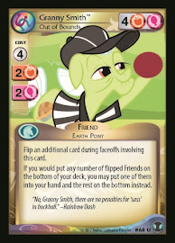 My Little Pony Granny Smith, Out of Bounds Defenders of Equestria CCG Card