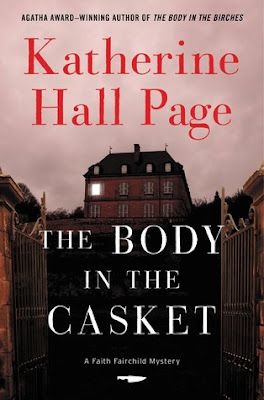 Bea's Book Nook, Review, The Body in the Casket, Katherine Hall Page