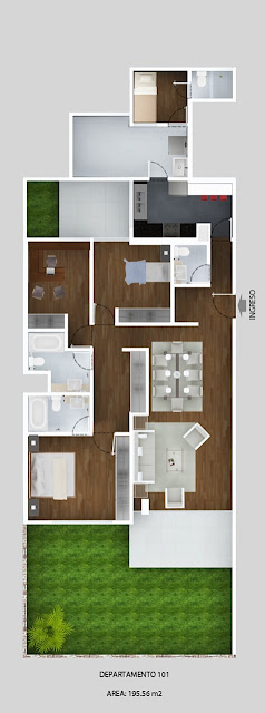 Planos de departamentos en 200m2 planos de casas gratis Planos de casas de 200m2