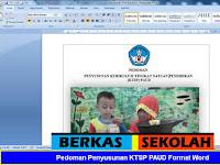 Pedoman Penyusunan KTSP PAUD Format Word