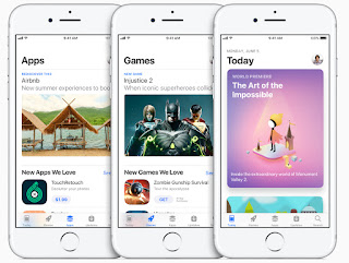 All-new App Store designed for discovering great apps and games every day.