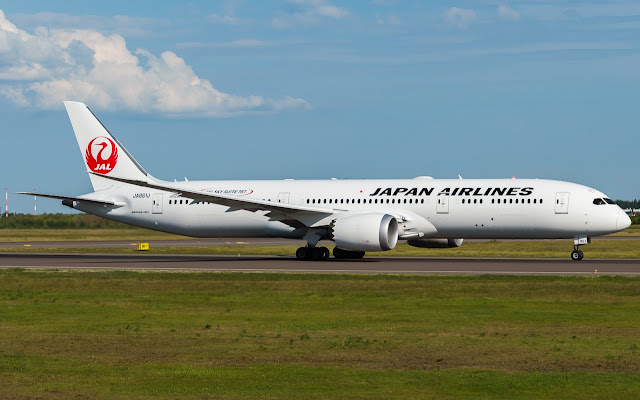Boeing 787-9 of Japan Airlines