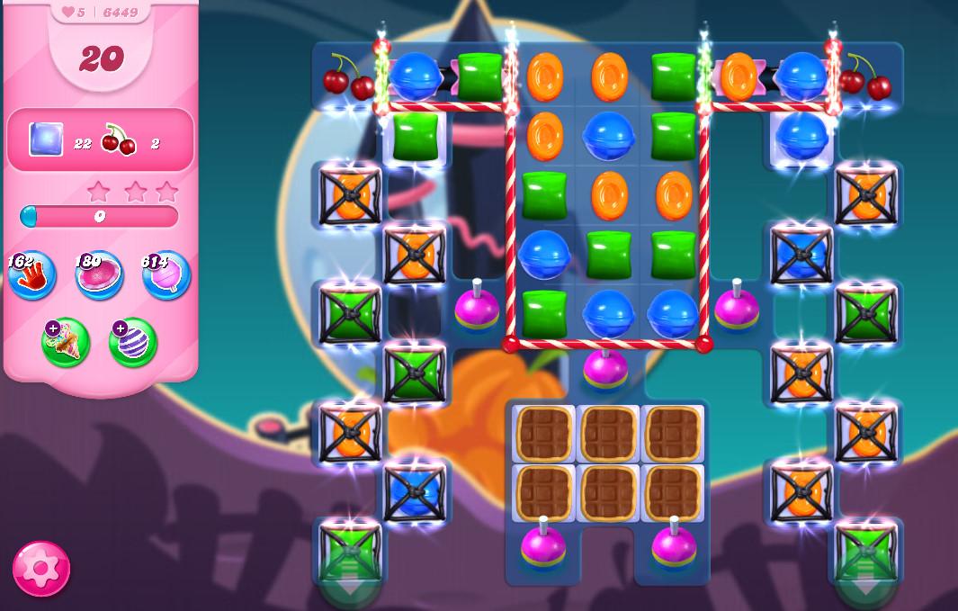 Candy Crush Saga level 6449