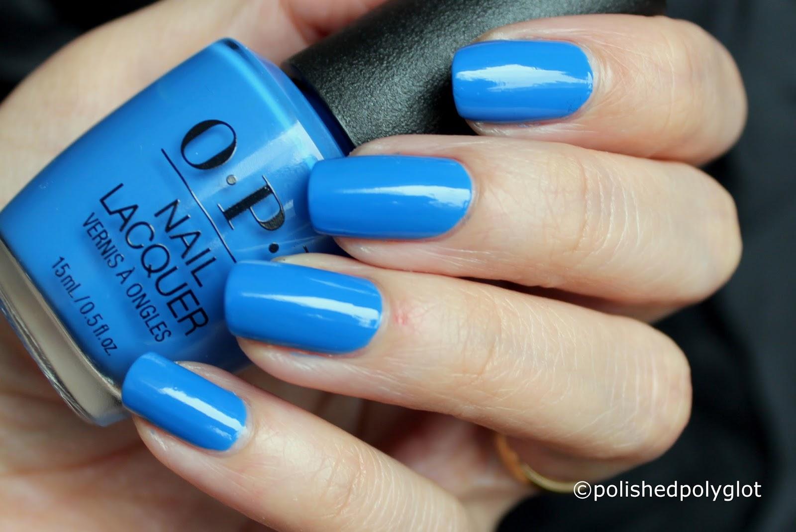 Cobalt Blue Nail Polish Opi | Splendid Wedding Company