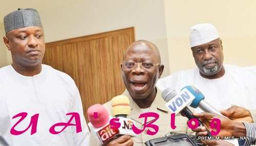 What Saraki, other defectors have done for APC – Oshiomhole