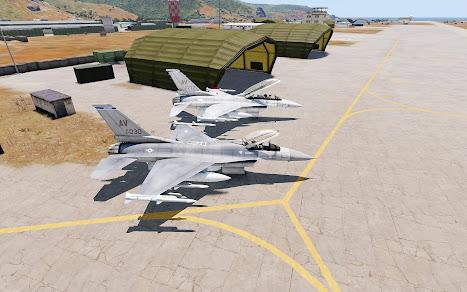 Arma3用F-16 Fighting Falcon MOD