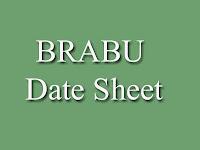 Bihar University BA, BSc, BCom Date Sheet 2016 - 2017