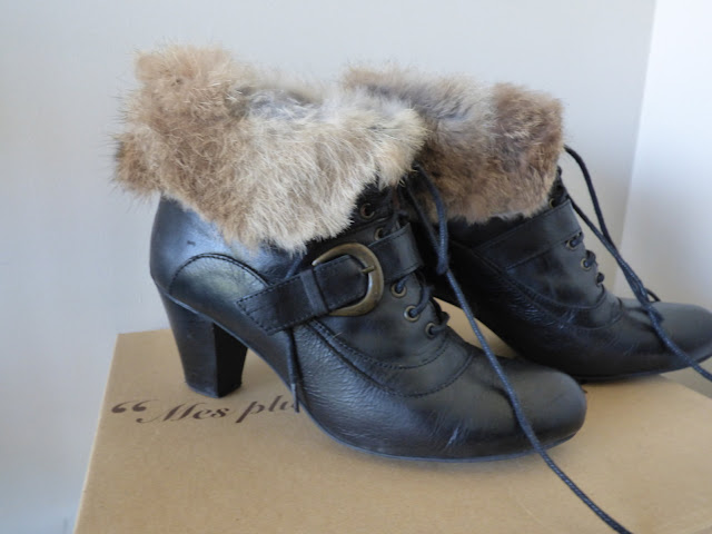 bottines en cuir Lollipops