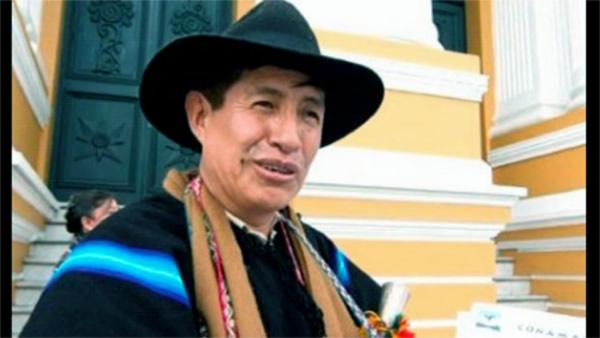 El MAS suspendió por seis meses al diputado Rafael Quispe