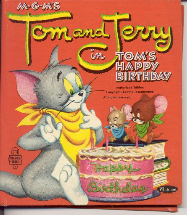 Tom and Jerry Happy Birthday