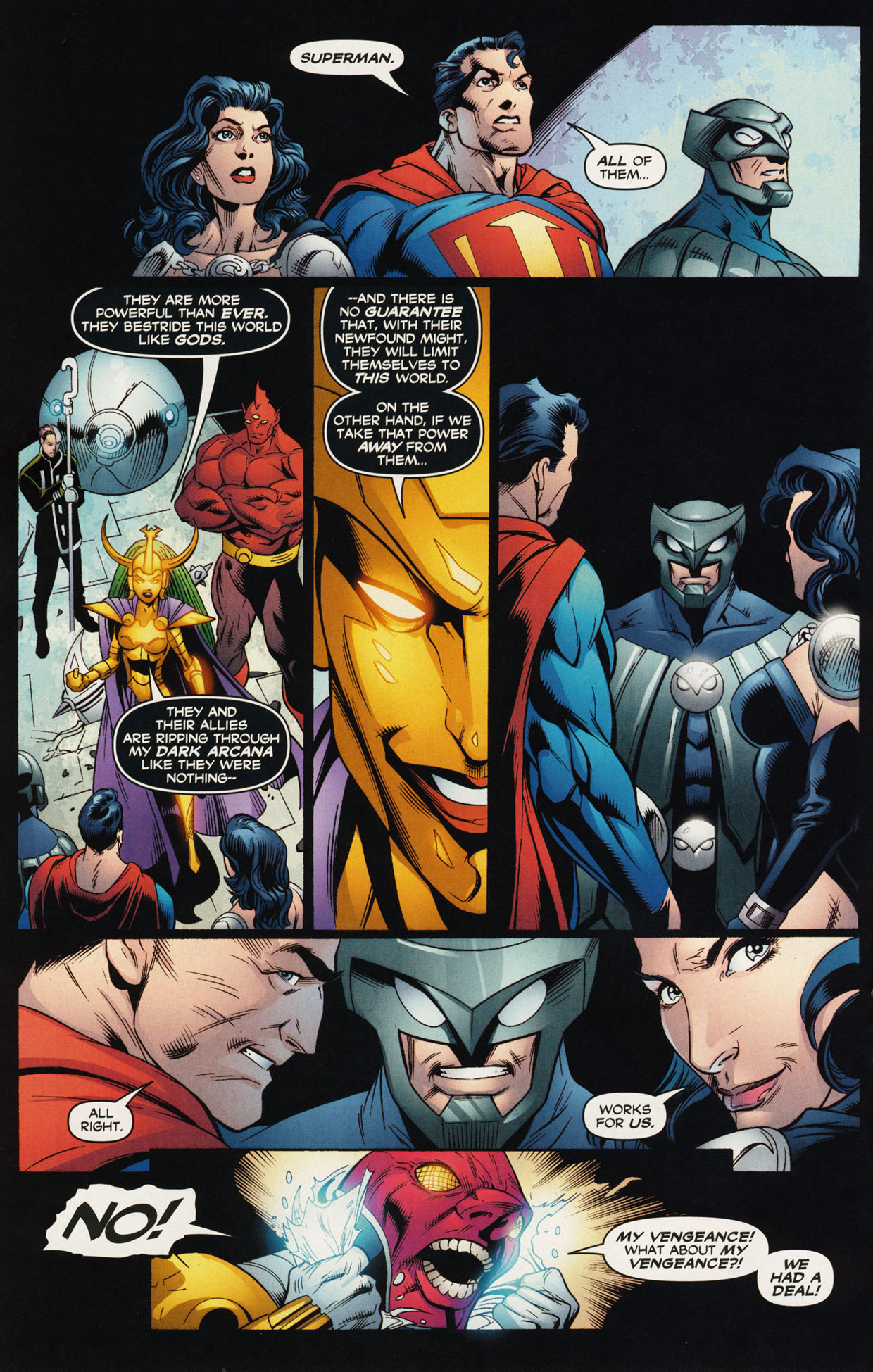 Read online Trinity (2008) comic -  Issue #44 - 12