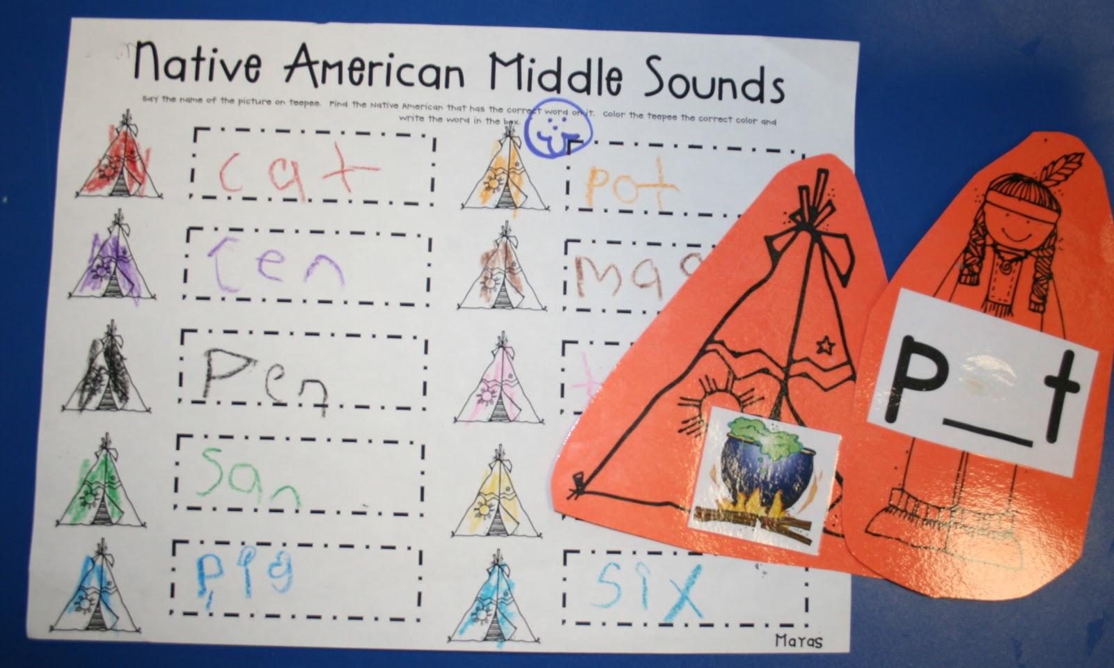Mrs Mayas Kindergarten Native Americans