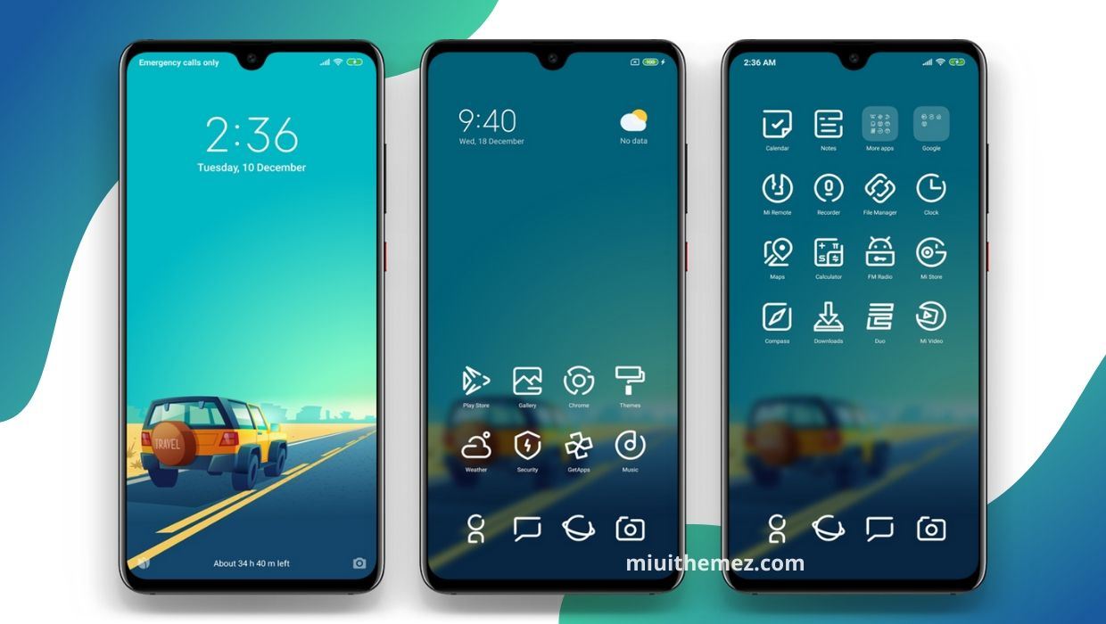 MShow Your Spirit MIUI Theme