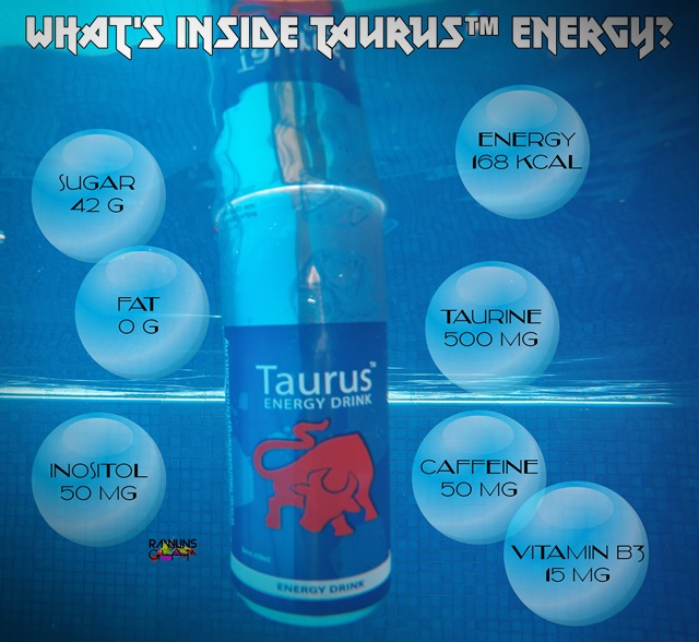 byrawlins, energy drink, my Taurus ed, Taurus Energy Drink, creative energy, swimming, zumba, workout, fitness, byrawlins, swimming, halal