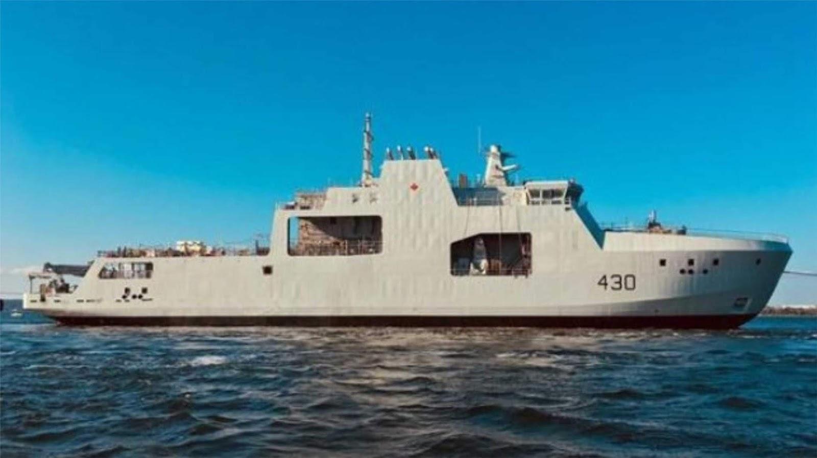 Enam kapal patroli kelas Arktik modern akan dibangun untuk Angkatan Laut Kanada