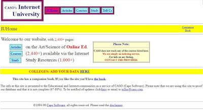 Página CASO en 1997