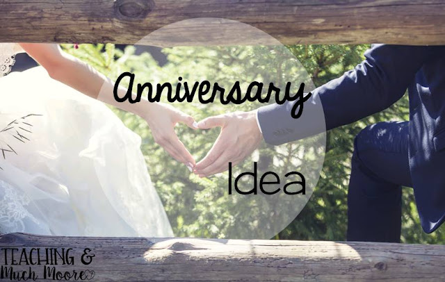 anniversary idea for your spouse