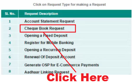 how to get cheque book from idbi bank online