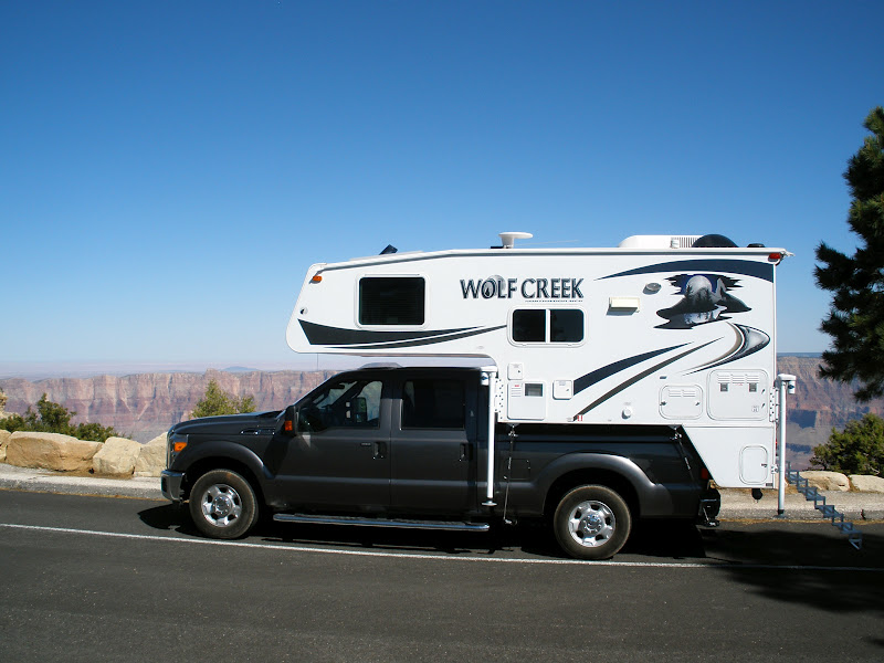 Taking My Wolf Creek Truck Camper To The Scales Truck