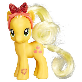 My Little Pony Hairbow Singles Applejack Brushable Pony
