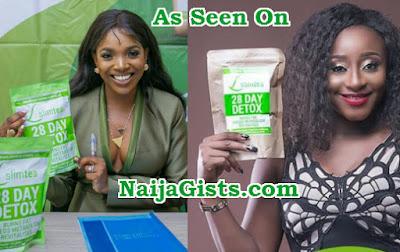 annie idibia slim tea nigeria ambassador