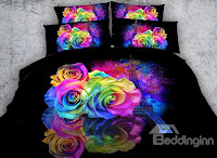 Beddinginn- 3d colorful bedding sets