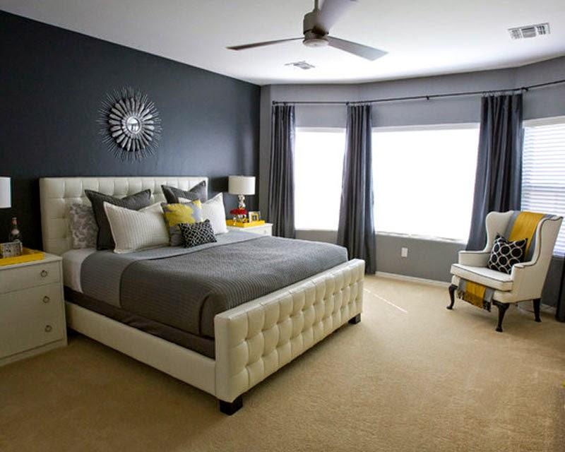 Шторы для серой спальни