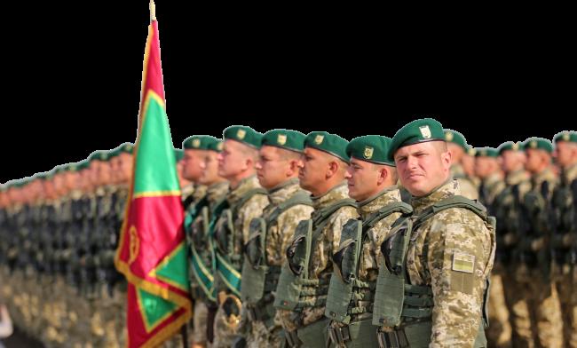 солдати Державної прикордонної служби України