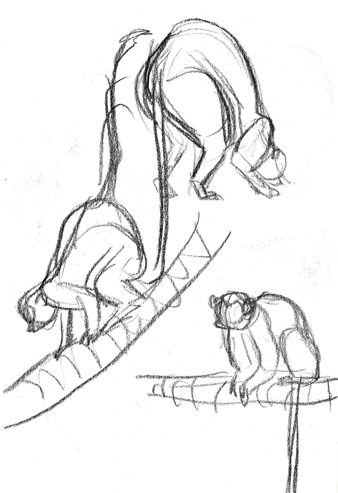 Nicola Coppack's Animation Blog: Monkeys sketches