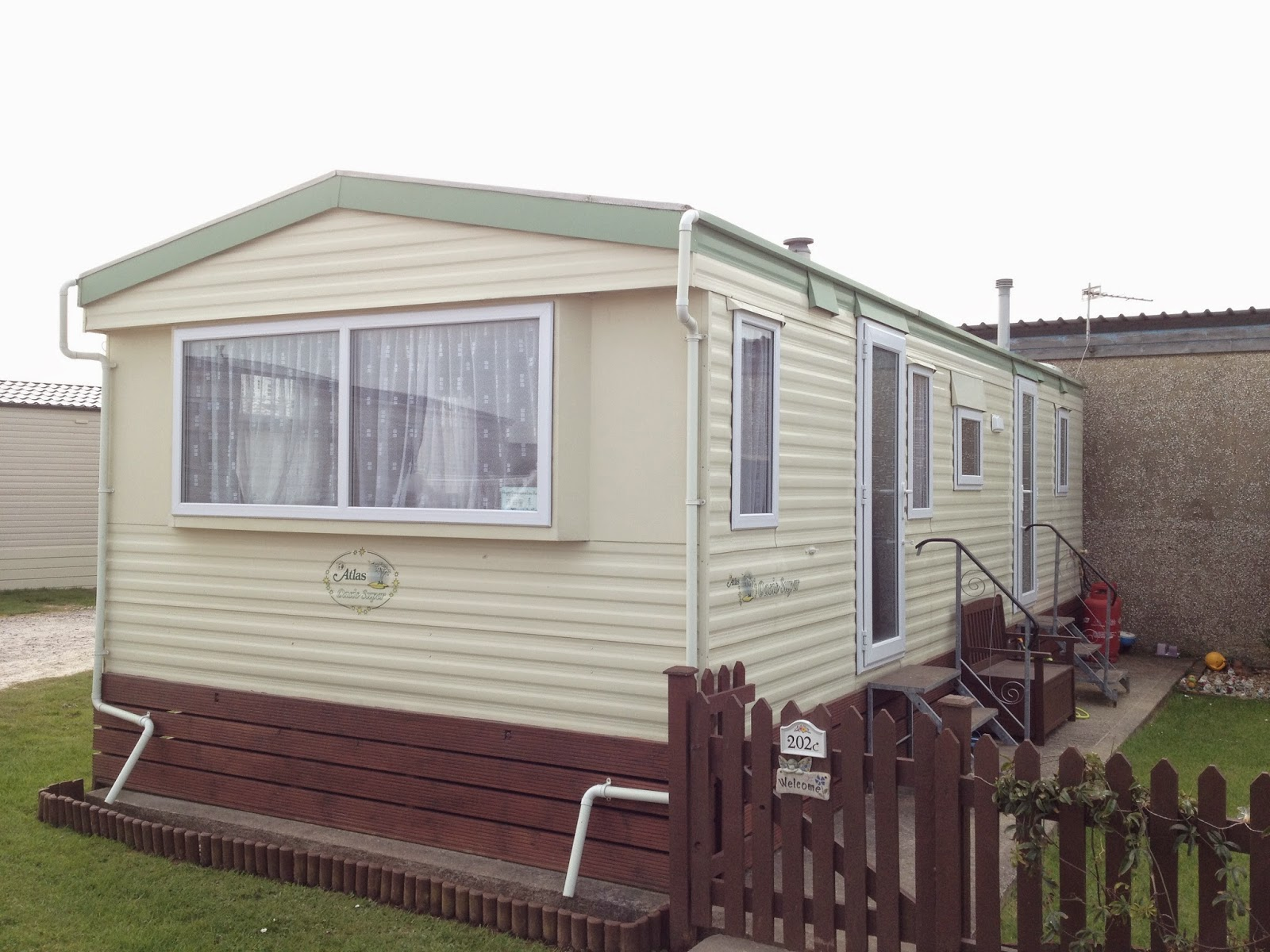 static caravan double glazing windows