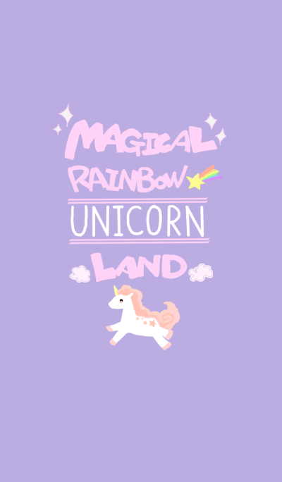 Magical Rainbow UNICORN Land
