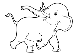 Adorable Elephant Coloring Online