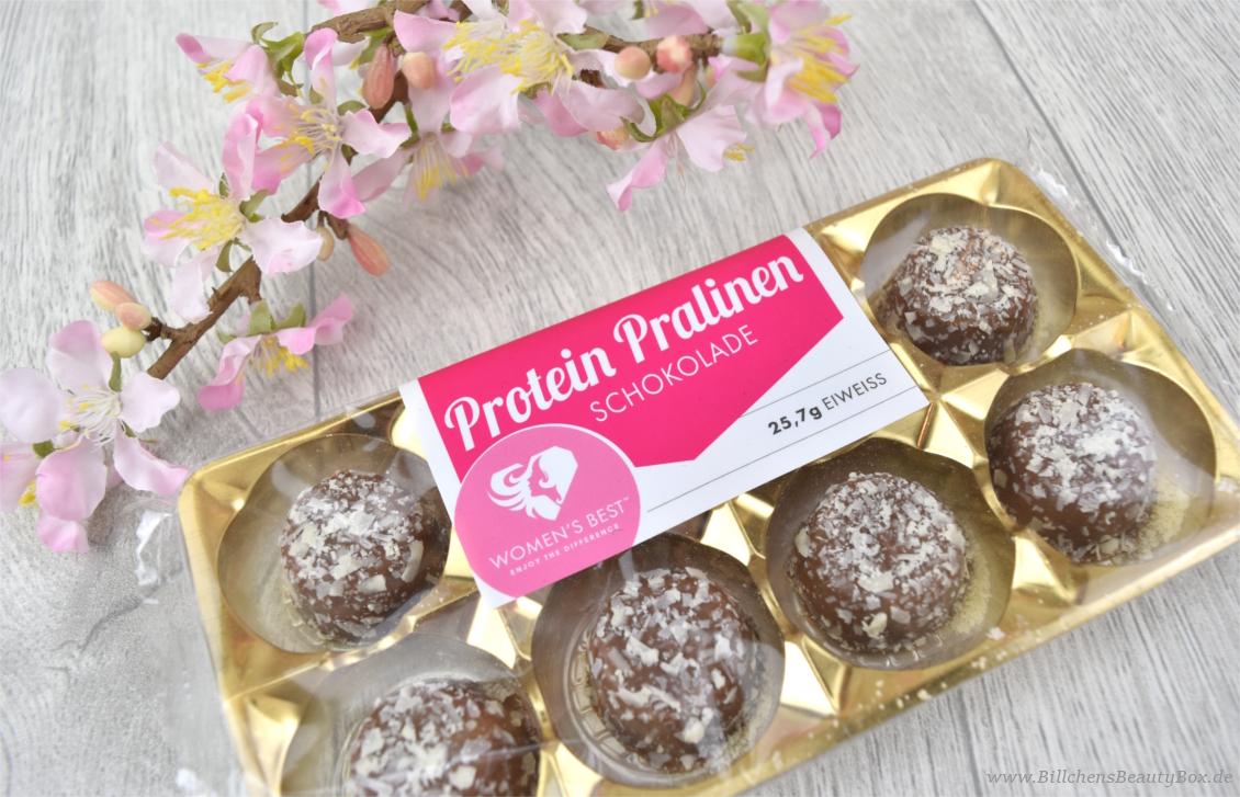 fem.box - Oktober - Women's Best Protein Pralinen