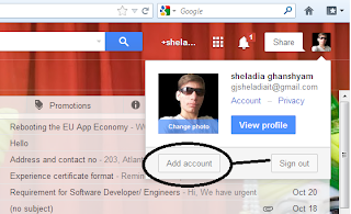 See - Add Account Button