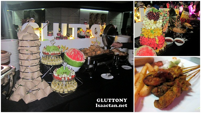 Good food at Moët Hennessy Diageo Media Appreciation Night