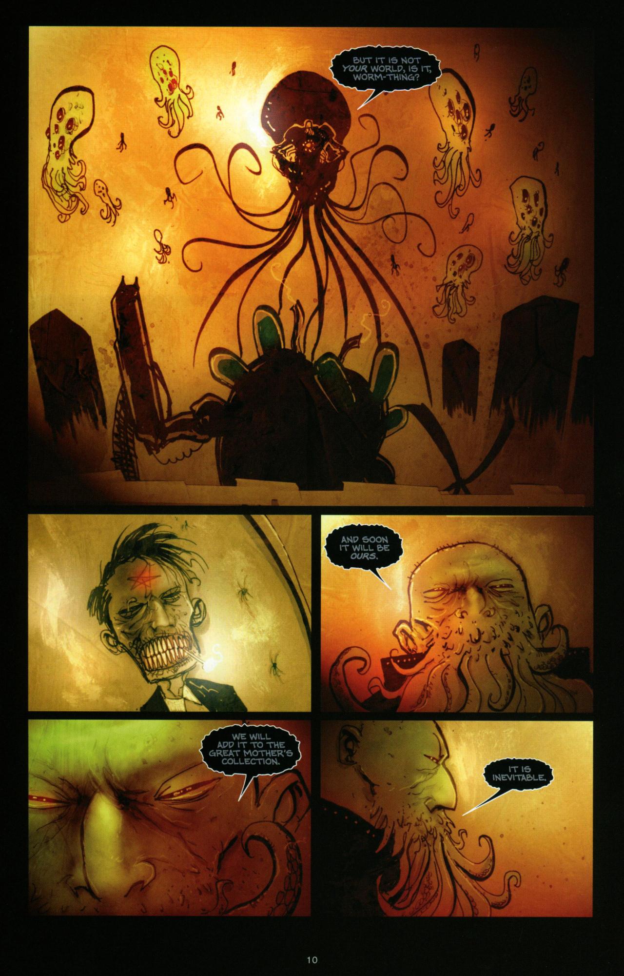 Read online Wormwood: Gentleman Corpse comic -  Issue #10 - 11