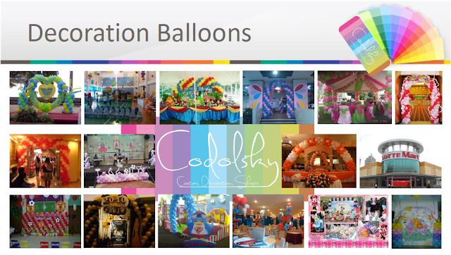 dekorasi balon, styrofoam, Dekorasi ultah, EO Ultah, Balloon Decoration