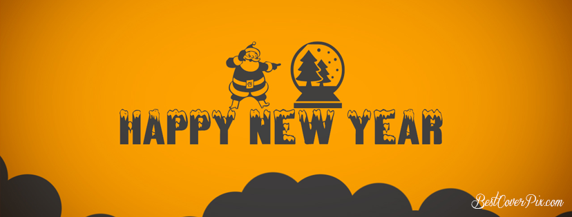 Happy New Year 2020 Wishes Wallpaper for Facebook Cover Photo
