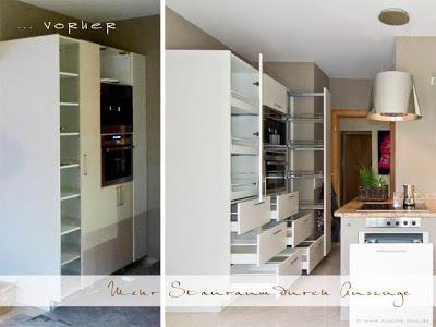 wir renovieren ihre k che eine kueche mit neuen fronten viel zus tzlichem stauraum und einem. Black Bedroom Furniture Sets. Home Design Ideas