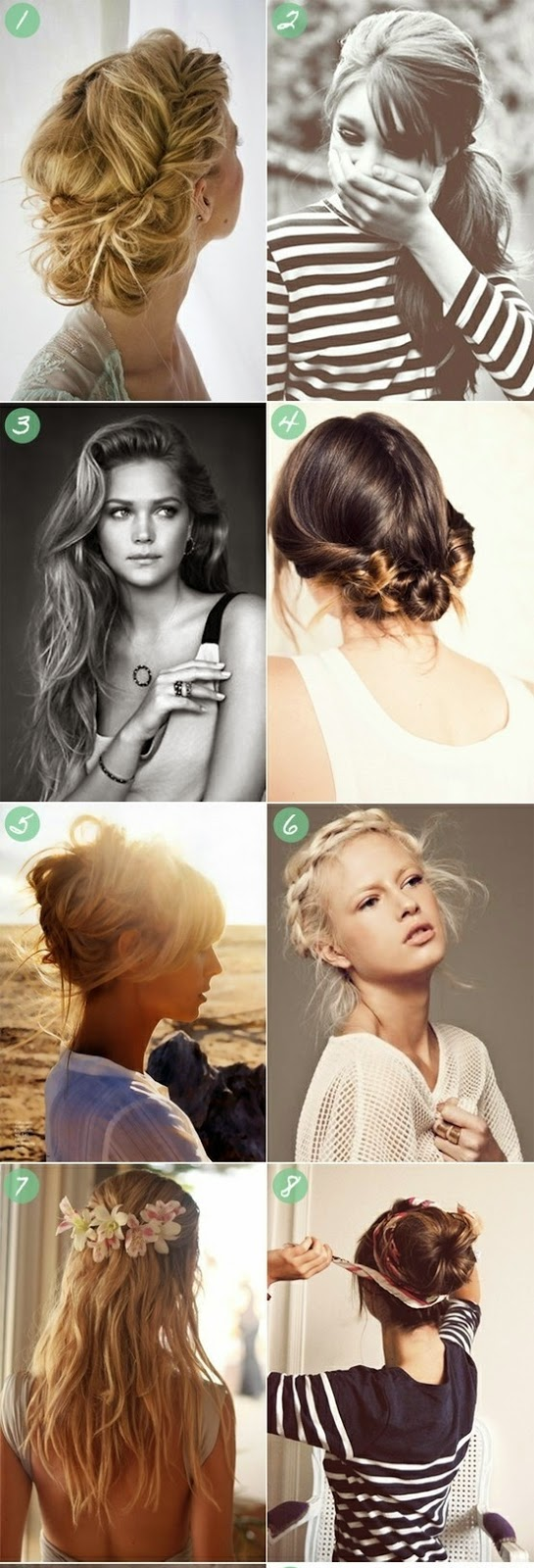8 summer hair styles Womens