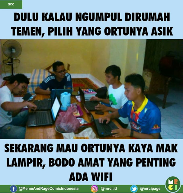 Meme Kids Jaman Now Nyari Wifi